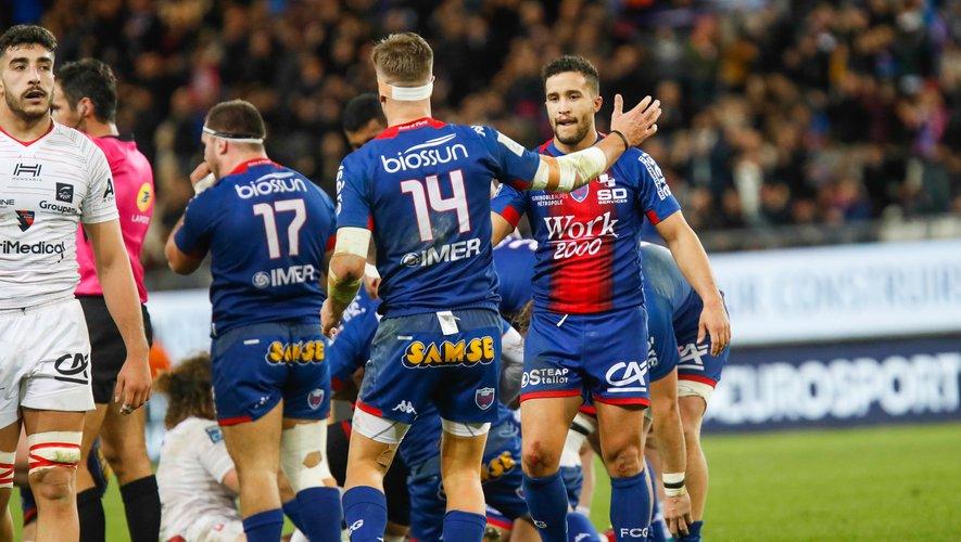 Theo Nanette et Bastien Guillemin (Grenoble) contre Oyonnax