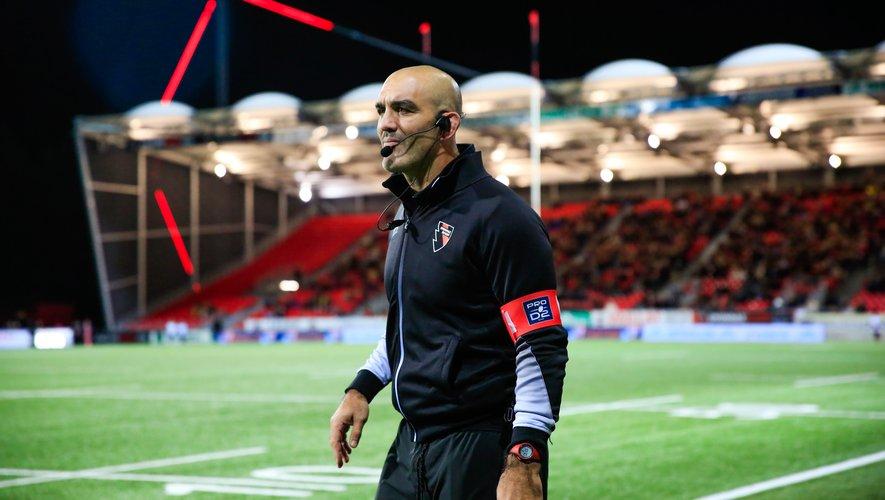 Joe El Abd, entraîneur d'Oyonnax