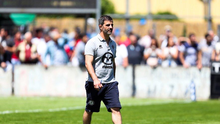 Mathieu Blin a un rôle transversal de coordinateur général au sein du club suresnois.