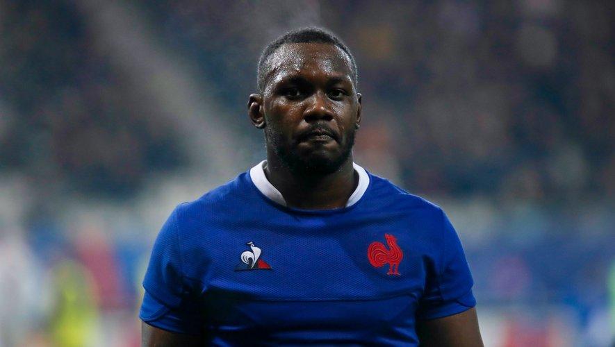 Jordan Joseph (France) lors du match d'ouverture du Tournoi contre l'Angleterre