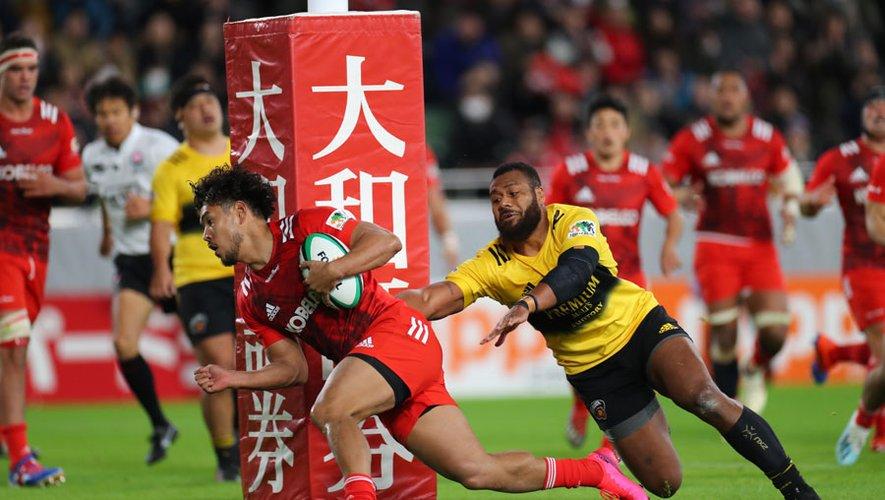 Top League 2020 Section 3 Kobe Steel Kobelco Steelers 35-29 Suntory Sangorias