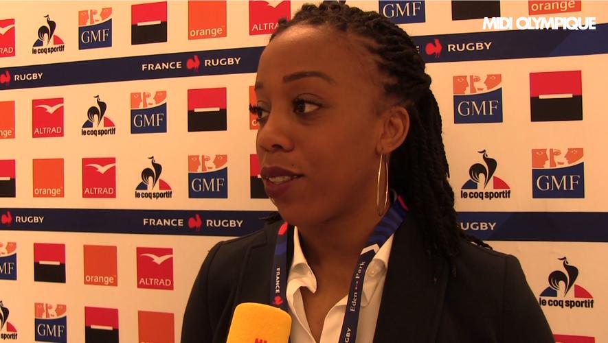 Tournoi des 6 Nations 2020 - Julie Annery (XV de France Féminin)