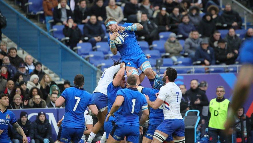 Inconsistants la semaine dernière à Cardiff, les Italiens de Niccolo  Cannone ont affiché quelques progrès, notamment en touche.