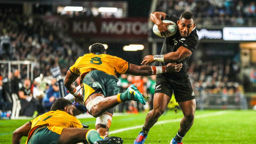 Rugby Championship - Sevu Reece (Nouvelle-Zélande) contre l'Australie