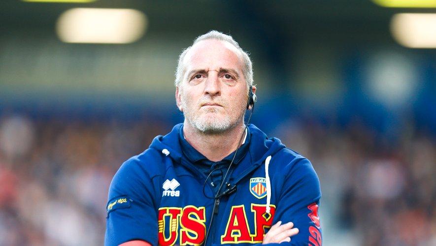 Patrick Arlettaz , entraîneur de l'USAP