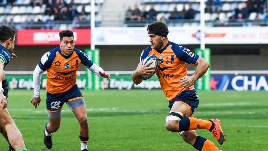 Kelian GALLETIER  of Montpellier   during the Heineken Champions Cup, Pool five match between Montpellier and Connacht at Altrad Stadium on January 19, 2020 in Montpellier, France. (Photo by Alexandre Dimou/Icon Sport) - Kelian GALLETIER - Altrad Stadium - Montpellier (France)