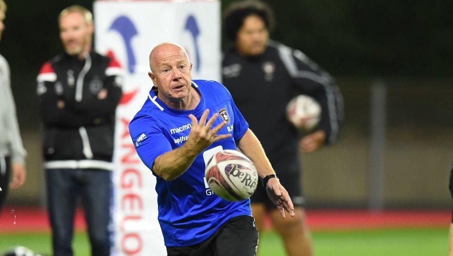 Pro D2 - Richard Hill (entraîneur de Rouen Normandie Rugby)