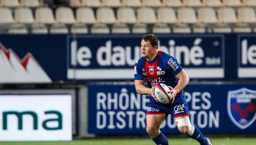 Deon Fourie (Grenoble) contre Perpignan