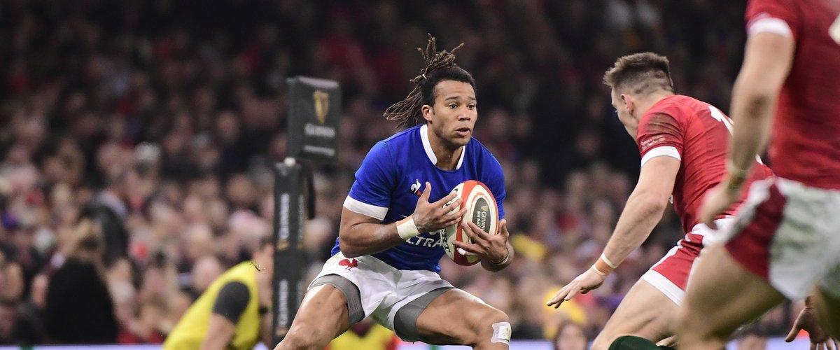 Teddy Thomas (France) contre le pays de Galles