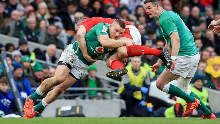 Tournoi des 6 Nations 2020 - Andrew Conway (Irlande) contre le pays de Galles