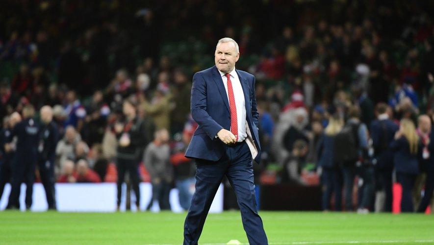 Wayne Pivac (pays de Galles) après la défaite contre la France