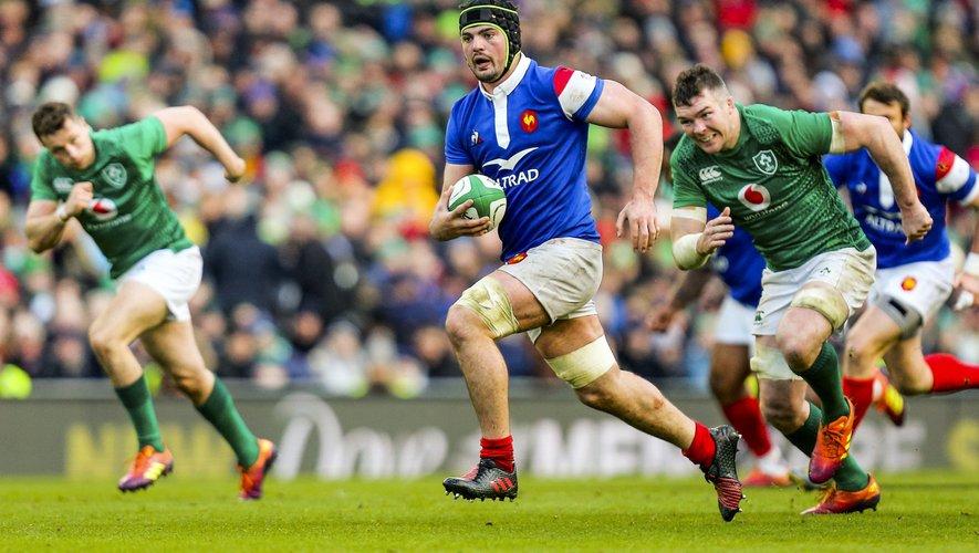 Grégory Alldritt contre l'Irlande l'année dernière
