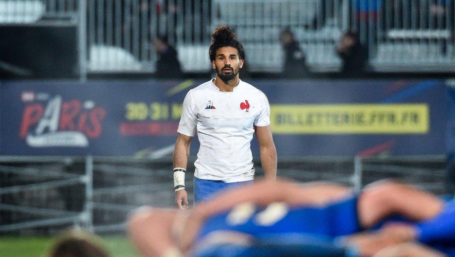Le Toulonnais Erwan Dridi sera titularisé à l'arrière après le forfait de Cheikh Tiberghien. Le polyvalent trois-quarts revient après avoir disputé la dernière journée de Top 14 avec le RCT contre le Stade français. Photo Icon Sport