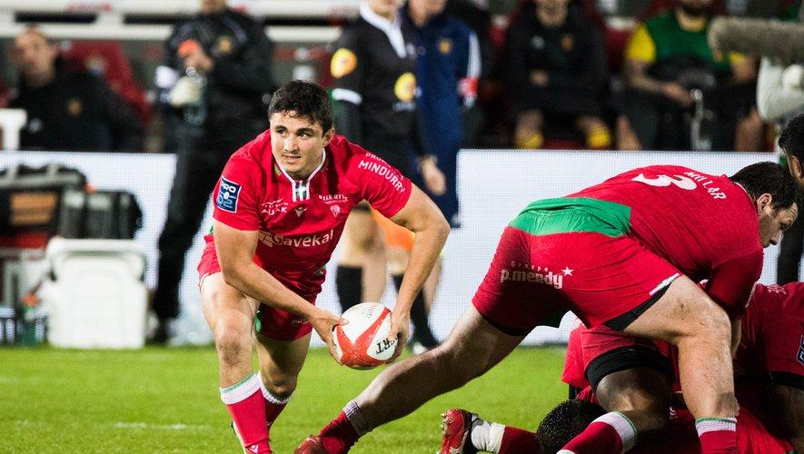 Gauthier Doubrere (Biarritz) n'aura pas permis à son équipe de l'emporter contre Nevers