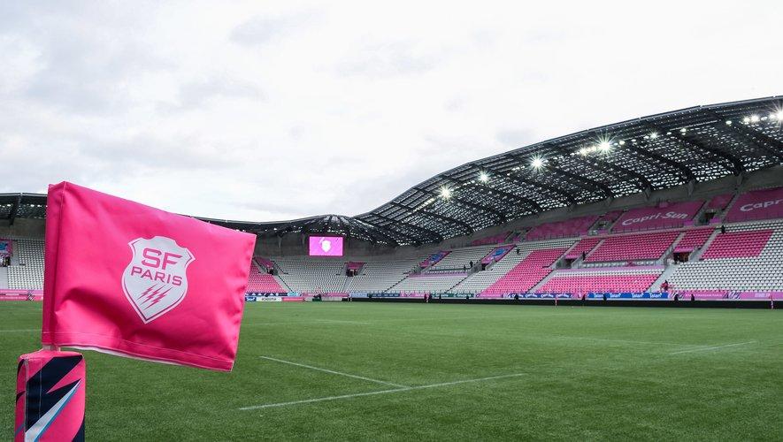 Le stade Jean Bouin sans supporter avant le match contre Pau