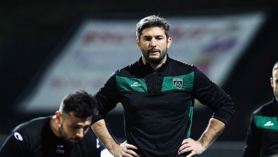 Jean Bouilhou, l'entraîneur de Montauban devra motiver ses troupes pour assurer le maintien