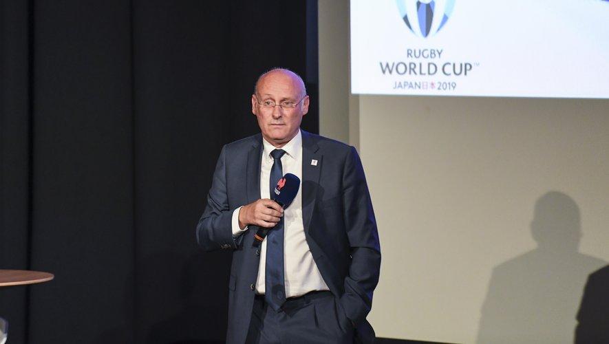 Bernard LAPORTE - Président de la Fédération française de rugby.