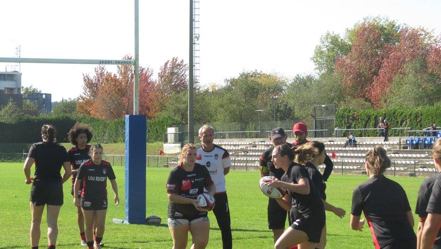 Les féminines du Lou Rugby