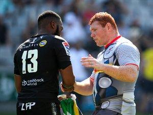 Super Rugby - Lukhanyo Am (Sharks) et Steven Kitshoff (Stormers)