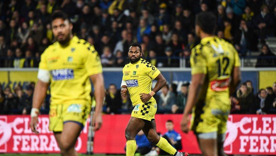 Top 14 - Alivereti Raka (Clermont) contre Bordeaux