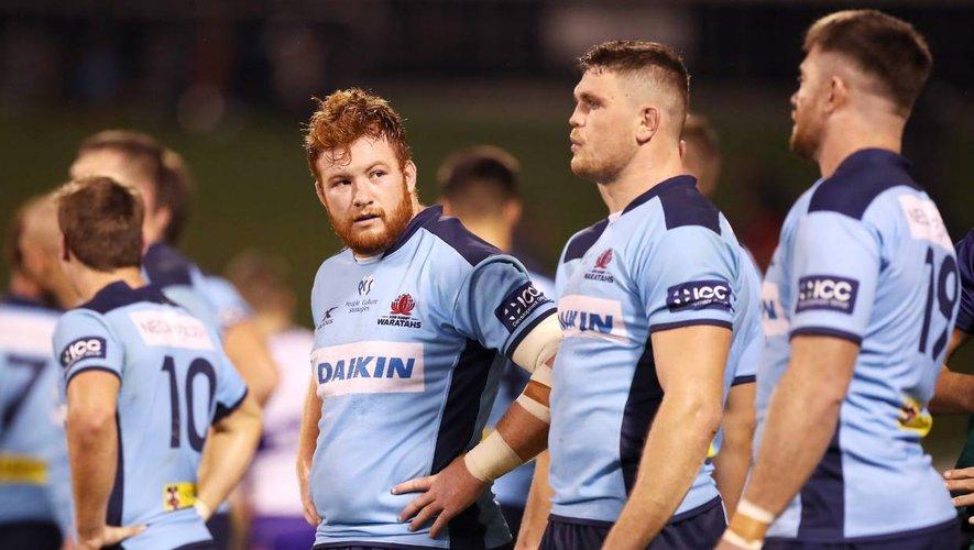 Comme toutes les autres provinces australiennes et à l'image de la NRL qui n'a pas stoppé ces activités, les Waratahs de Harry Johnson-Holmes (à gauche) ont retrouvé le chemin de l'entraînement cette semaine. Et ce alors que le Super Rugby n'a pas prévu de reprendre de sitôt.