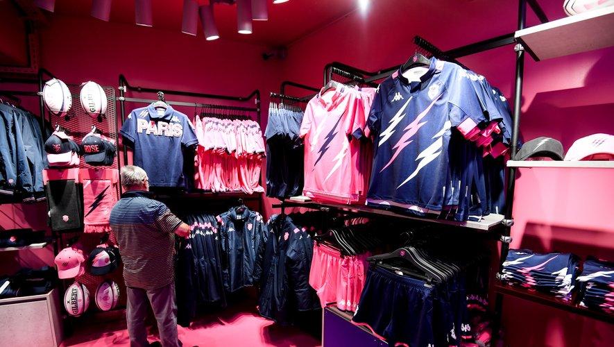 La boutique du Stade français à Paris