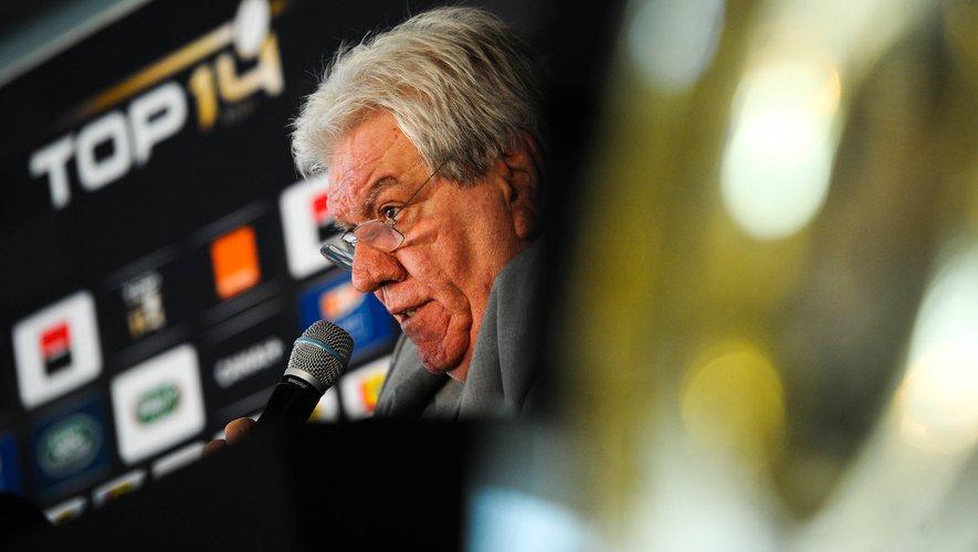Paul Goze, le président de la LNR, a réuni en visioconférence mercredi soir les présidents des clubs professionnels. Photo Icon Sport