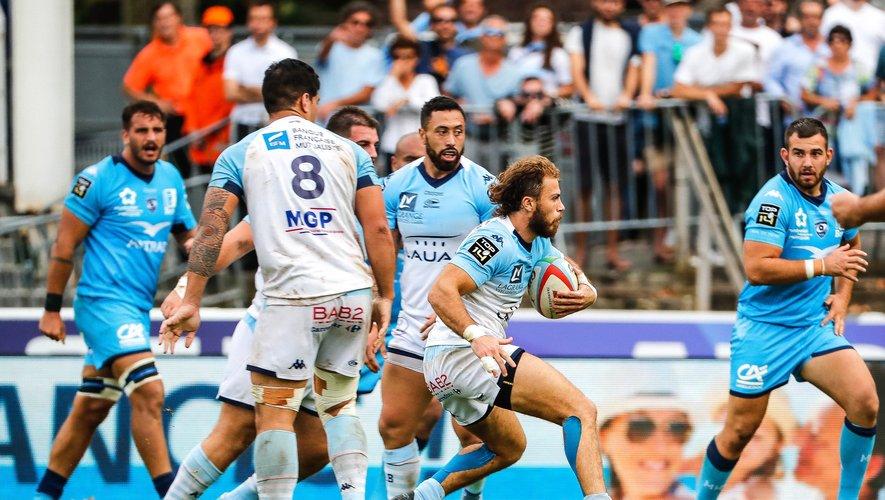 Arthur Duhau (Bayonne) contre Montpellier