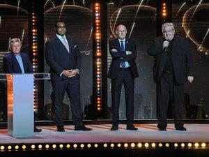 Comme sur de nombreux autres dossiers, les positions de Bernard Laporte, à gauche, et Paul Goze,  à droite, au sujet de l'avenir duTop 14 et du Pro D2, s'éloignent de jour en jour. Photo Icon Sport