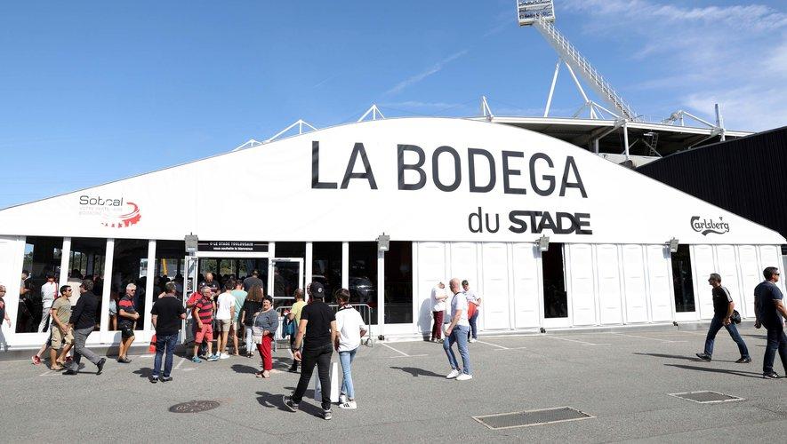 La bodega du Stade toulousain