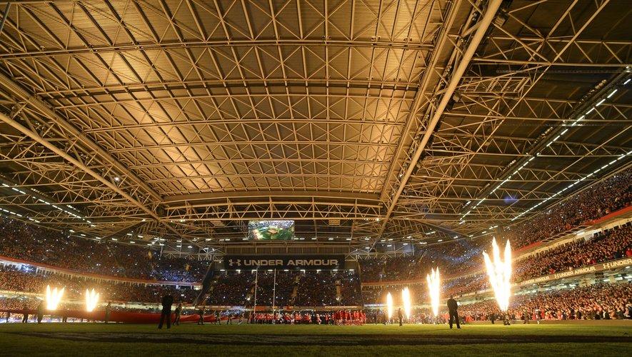 Le Millennium Stadium - 21.02.2014 - Pays de Galles / France - Tournoi des Six Nations -