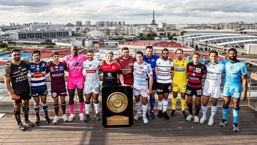 Les quatorze équipes présentes dans l'élite lors de la saison 2019-2020 seront de nouveau en Top 14 la saison prochaine. Il n'y aura donc pas de descente cette année que ce soit en Top 14 mais aussi en Pro D2. Photo LNR