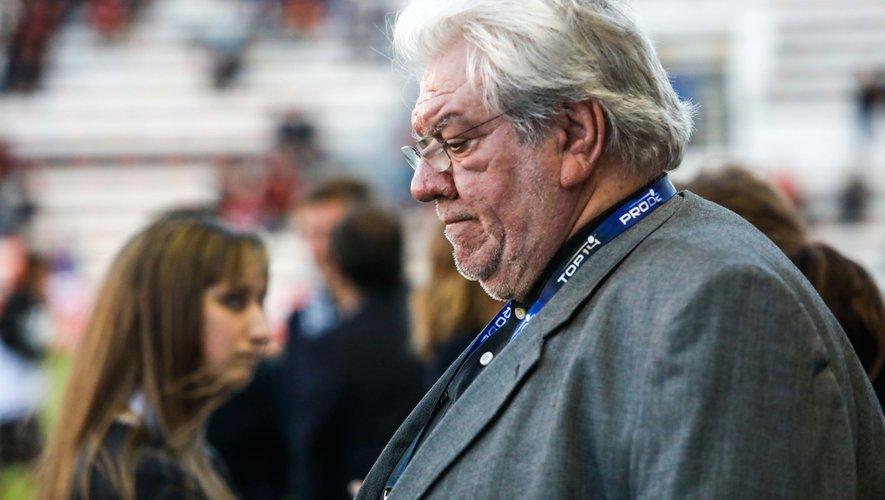 Paul Goze, Président de la Ligue nationale de rugby.