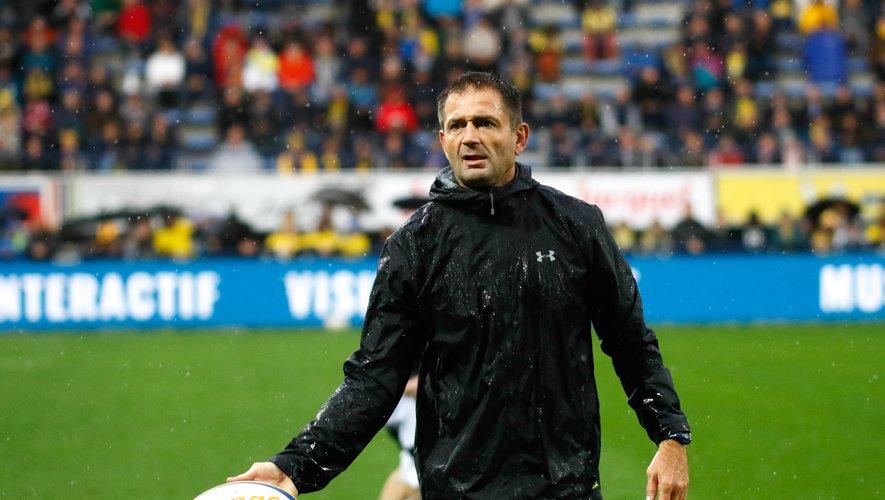 Franck Azéma, manager de Clermont.