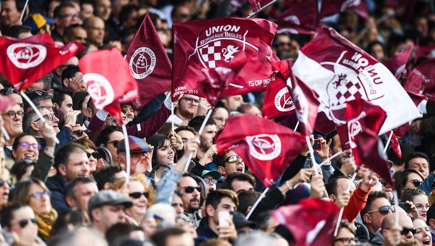 Les supporters de l'UBB