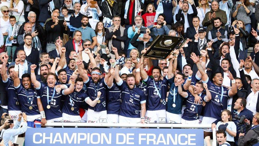 Pro D2 2018-2019 - Les Bayonnais, derniers champions de France du Pro D2