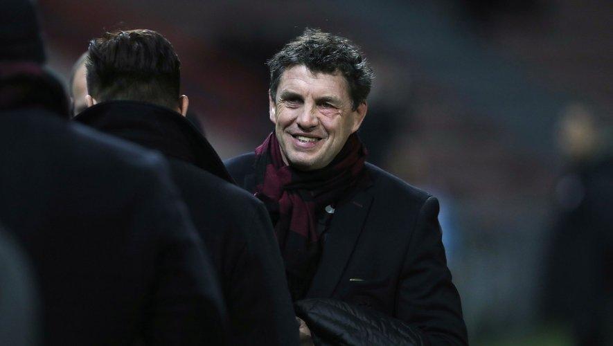 Didier Lacroix, président du Stade toulousain.