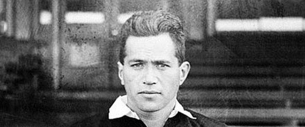 George Nepia, le splendide arrière et sûrement l'une des premières stars du rugby mondial.