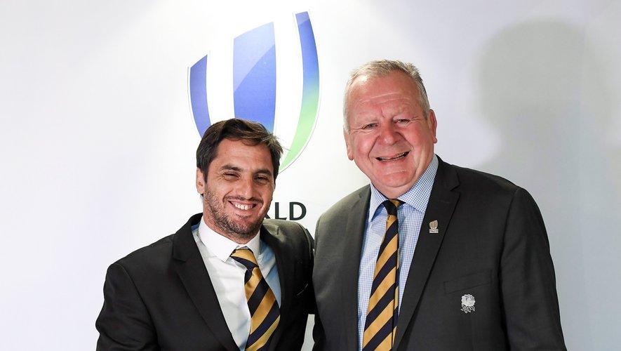 Agustin Pichot et Bill Beaumont ont avancé ensemble pendant quatre ans à la présidence de World Rugby. Au printemps 2020 le premier, qui était alors vice-président, challengera le second pour se placer tout en haut de l'instance mondiale.