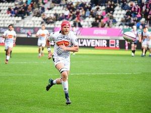 Tom Murday (Agen) contre le Stade français