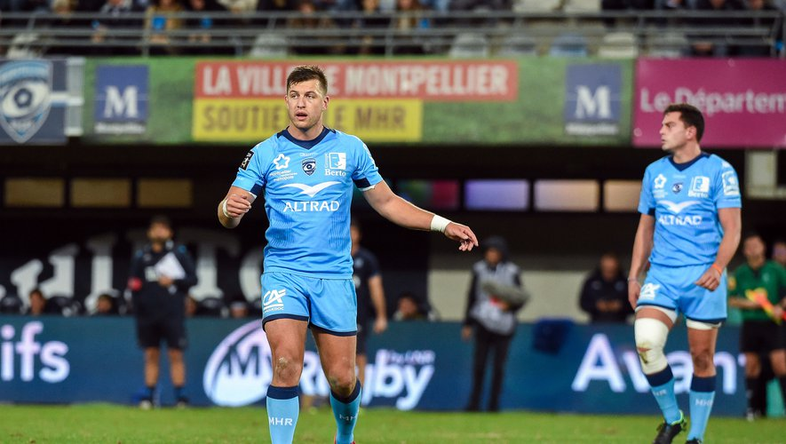 Handre  POLLARD of Montpellier  during the Top 14 match between Montpellier and Stade Francais at Altrad Stadium on December 28, 2019 in Montpellier, France. (Photo by Alexandre Dimou/Icon Sport) - Handre  POLLARD - Altrad Stadium - Montpellier (France)