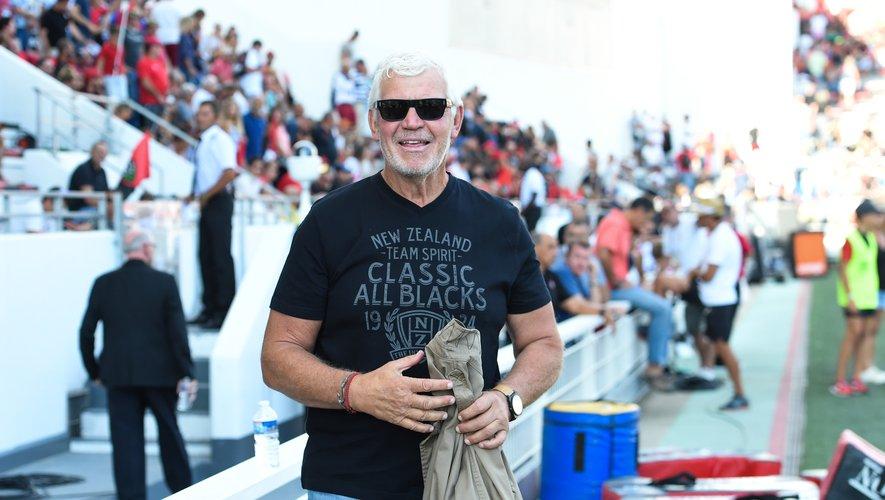 L'ancien troisième ligne international puis président du RCT, Éric Champ, soutient Florian Grill dans sa quête de la présidence de la Fédération. Photo Icon Sport