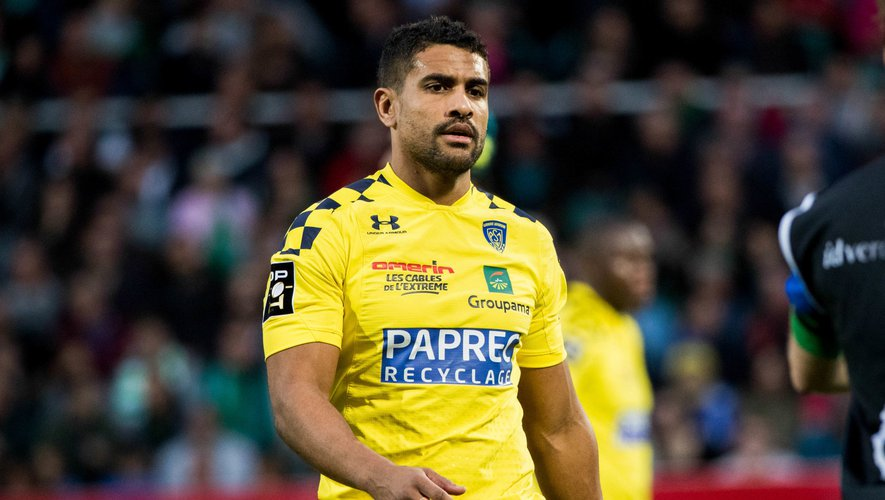 Wesley FOFANA of Clermont during the Top 14 match between Pau and Clermont at Stade du Hameau on February 15, 2020 in Pau, France. (Photo by JF Sanchez/Icon Sport) - Wesley FOFANA - Pau (France)