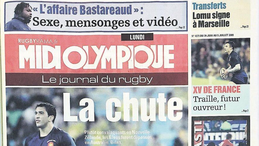 Histoires de « Une » : Sexe, mensonges et vidéo, retour sur « l'affaire Bastareaud »