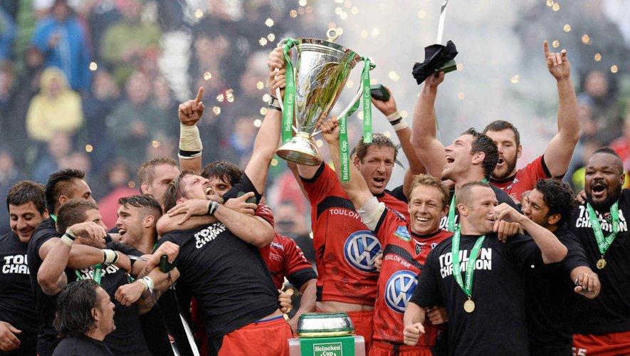 Le RCT, dernier club français à avoir remporté la Champions Cup et quatrième du Top 14 interrompu, pourrait ne pas être qualifié pour la prochaine édition si la LNR venait à décider une saison blanche et les mêmes clubs qualifiés que la saison dernière.