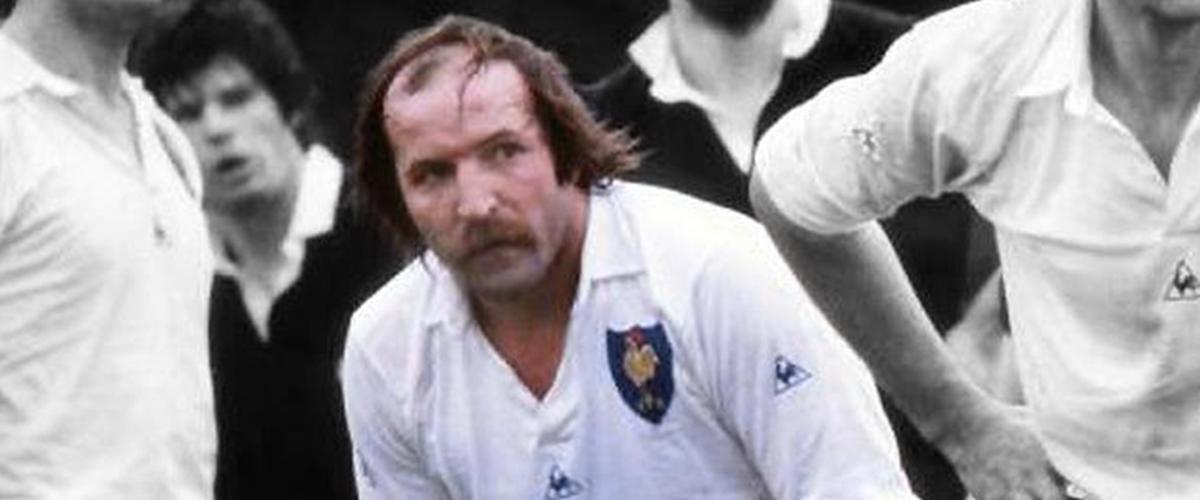 ArmandVaquerin, figure mythique du rugby français.