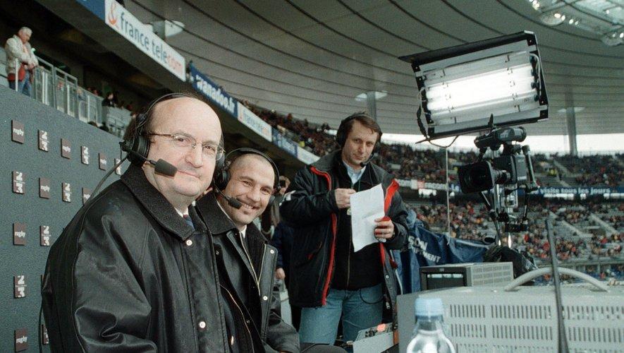 Pierre Salviac a été le commentateur du rugby sur France Télévisions entre 1984 et 2005