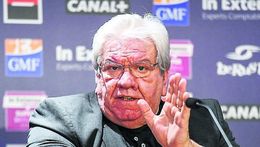 Paul Goze, président de la Ligue Nationale de Rugby, a clarifié de nombreuses situations concernant la fin de saison. Photo Icon Sport
