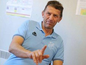 Laurent Bazin, président du CS Vienne, qui restera en Fédérale 1 la saison prochaine.