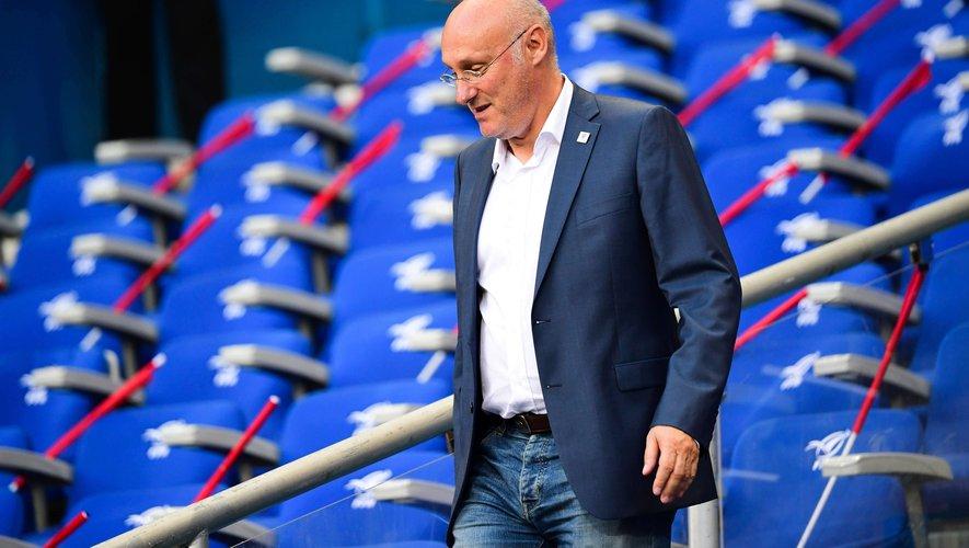 Bernard Laporte, vice-président de World Rugby et Président de la FFR devra choisir entre le rugby international et rugby français